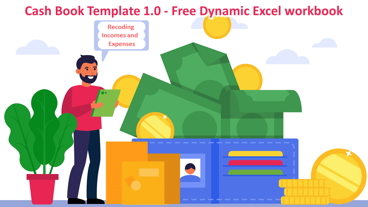 Cash Book Template 1.0 – Free Dynamic Excel workbook